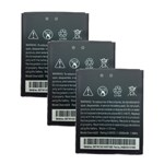 HTC Battery for HTC B0PM3100 (3-Pack) Replacement Battery