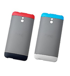 HTC DOUBLEDIPCASE-HTCONEMINI-BLUERED Cell Phone Case