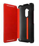 HTC DOUBLEDIPFLIPCASE-HTCONEMAX-BLACKRED Cell Phone Case