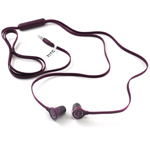 HTC INEARWIREDHEADSET-HTC-PURPLE Cell Phone Accessory Headset